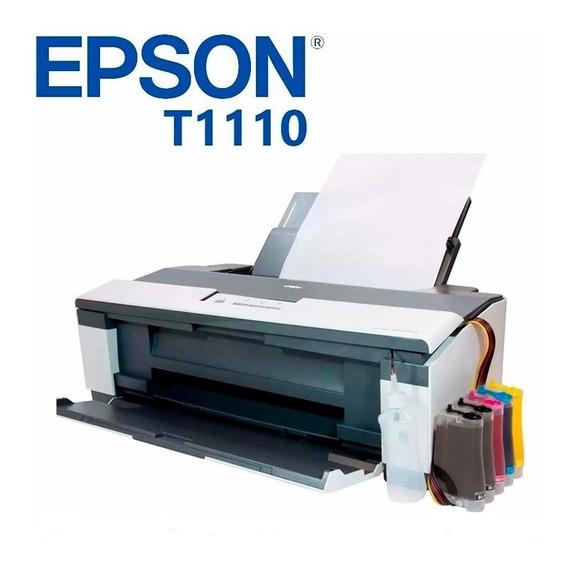 Impressora Epson Stylus T1110 A3 Com Bulk Ink