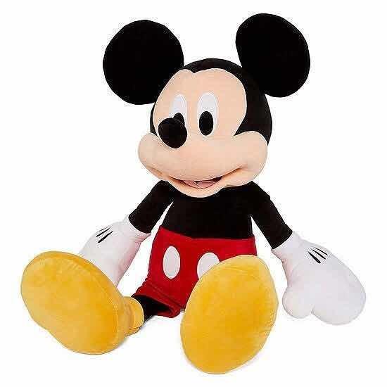 Pelúcia Mickey Original Da Disney Store