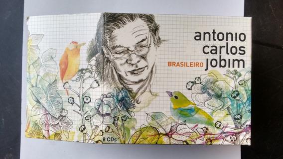 Cd Box Tom Jobim Brasileiro Lacrado