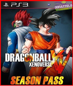 Season Pass Dragon Ball Xenoverse Ps3 Dig Personagens Extras
