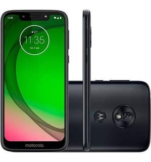 Motorola Moto G7 Tela 5,7 Camera De 13mp Dual Chip Azul Ind