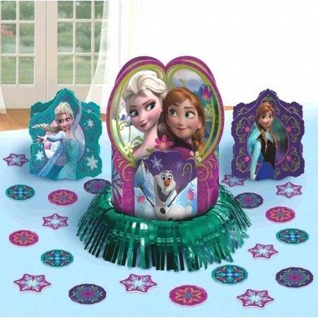 Decoracion Para Mesa Disney Frozen Ana Elsa Olaf Oferta