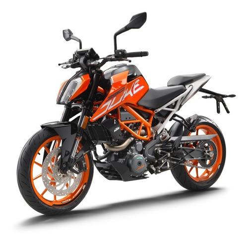 Ktm Duke 390 Naranja / Blanca 0km 2021 Automoto Lanus