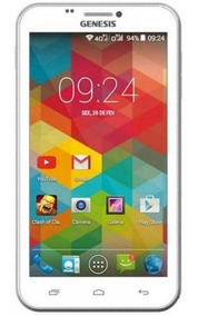 Smartfone Genesis Gt-6405 Quad Core Tela 6 Pol 4g Novo