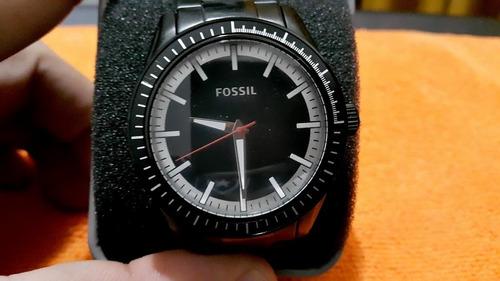 Relógio Bq 1268 Aço Preto Completo Novo Na Caixa