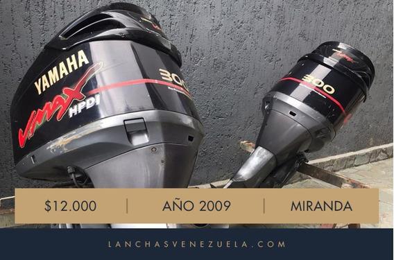 Pareja De Motores Yamaha Vmax 300 Hp Lv722
