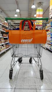 Bolsa Carrito Changuito Supermercado Set X 5 Bolsas Oferta!