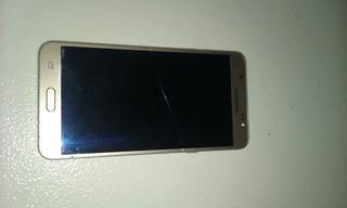 Samsung Galaxy J7, Tela Trincada