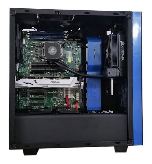 Server Workstation 256 Gb Xeon 2698 V3 Rtx2080 8tb + 512 M.2