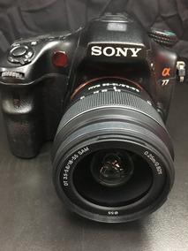 Sony Alpha A77 Com 18-55 12x Sem Juros