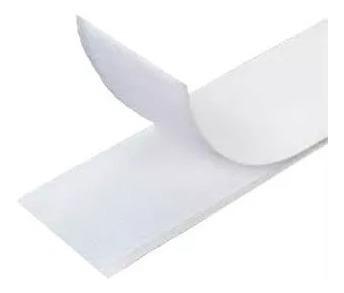 Velfix Auto Adesivo, 02 Lados Adesivados Branco 10m X 2cm