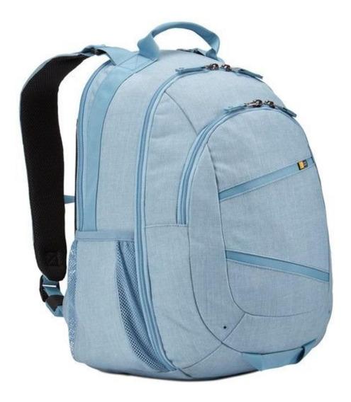Mochila Para Laptop 15,6 Case Logic Berkeley Azul Bpca316