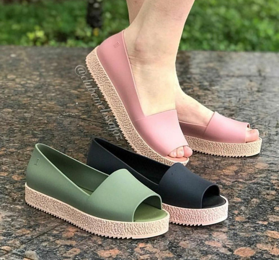 Sapato Melissa, 36 Na Cor Preta Apenas