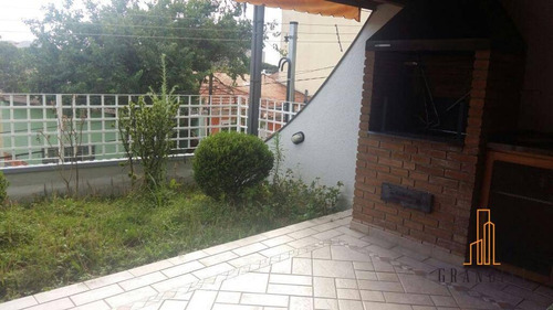 Sobrado Residencial À Venda, Santa Terezinha, São Bernardo Do Campo. - So0027