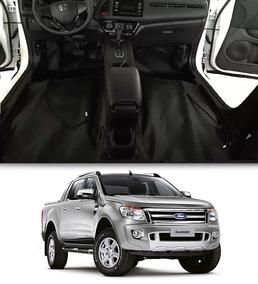 Revestimento Assoalho Verniz Ford Ranger Dupla 2012/2018