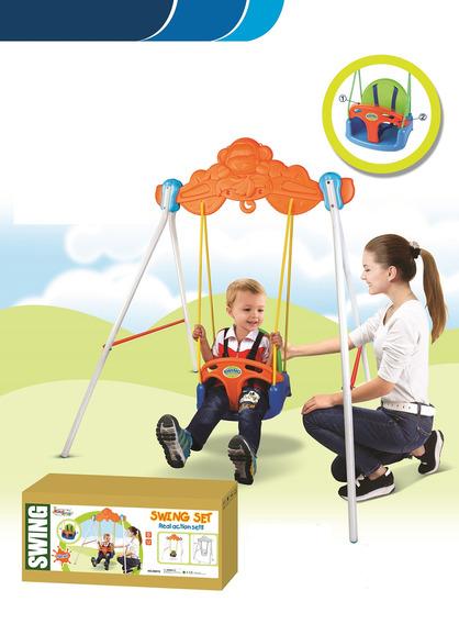 Balanço Infantil Playground Com Encosto E Cinto - 18288
