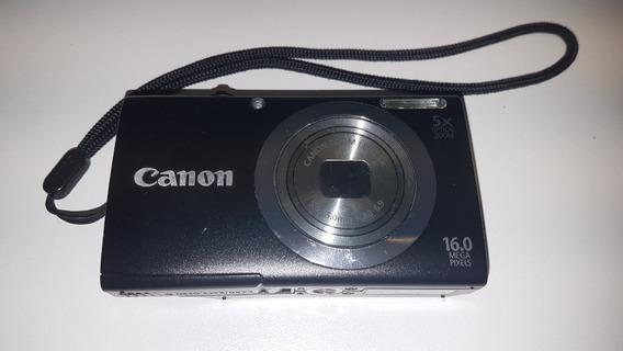 Canon Powershot A2300 + Cartão Sdhc 4gb + Carregador + Capa