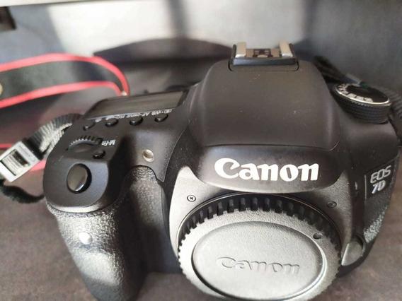 Câmera Canon 7 D