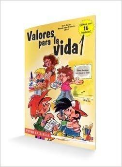 Imagen 1 de 2 de Valores Para La La Vida 1 Escuela Bíblica Niños Edad Escolar
