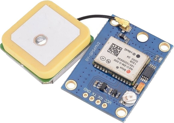 Modulo Gps Ublox Neo6 Con Antena Y Bateria Arduino Pic Neo 6