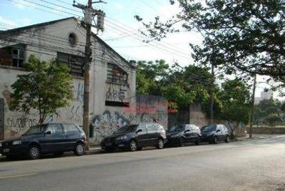 Terreno À Venda, 235 M² Por R$ 640.000 - Barra Funda - São Paulo/sp - Te0024