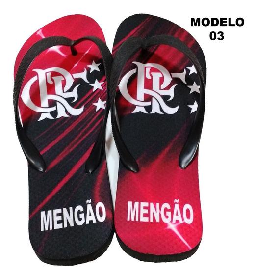 Chinelo Do Flamengo - Personalizado Mod 03