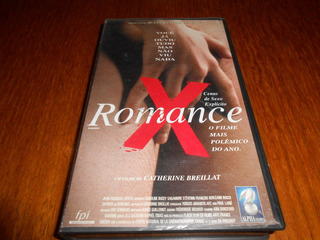 Vhs Filme Romance. Catherine Breillat. Erotico.