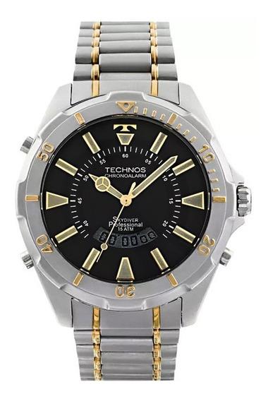 Relógio Technos Masculino Performance Skydiver - T205fq/5p