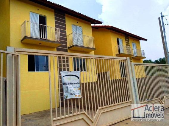 Oportunidade! Documentação Pronta Para Financiar - Casa Com Dois Dormitórios À Venda - Centreville - Cotia/sp. - Ca2035