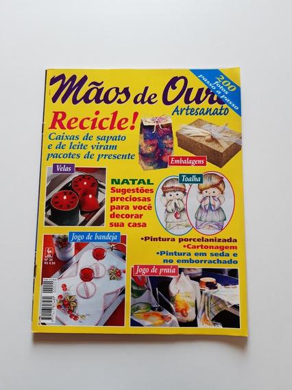 Revista Mãos De Ouro Artesanato Velas Jogo De Praia D721