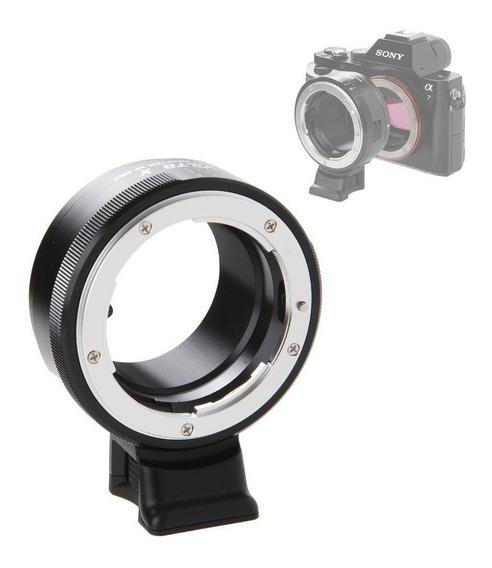 Anel Adaptador De Lente Viltrox Nikon F G Nf-nex Sony Tripé