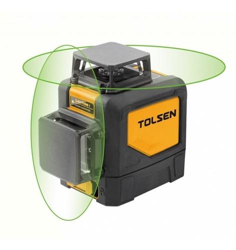 Imagen 1 de 7 de Nivel Láser V&h 360° Autonivelado Tolsen 35154 Industrial