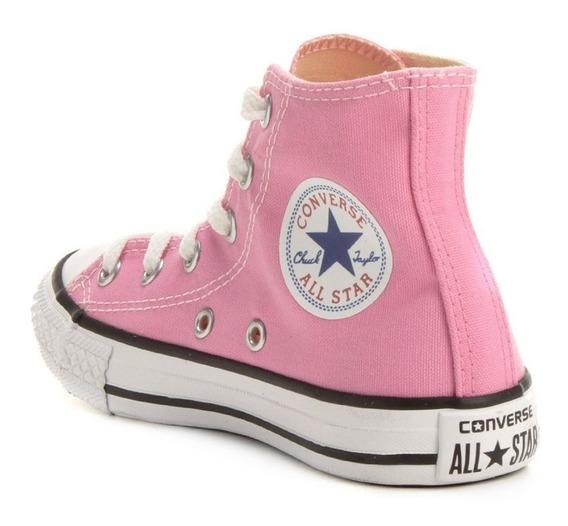 Tênis Converse All Star Core Bota Rosa