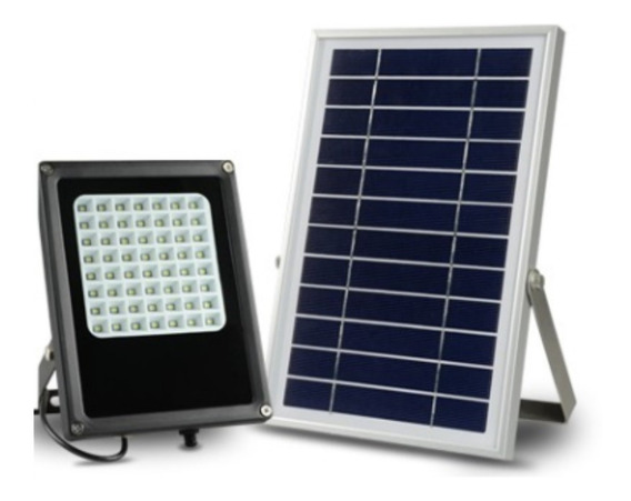 Lampara Solar 56 Led Reflector P/exterior