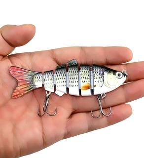 Isca Artificial Peixe Articulado 6 Segmentos