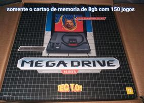 Cartao De Memoria Para Mega Driver 2017 Retro Com 500 Jogos