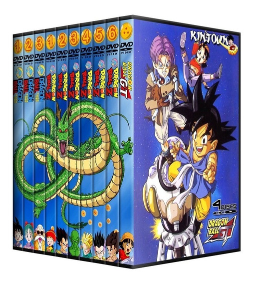 Dvds Dragon Ball + Z + Gt + Filmes Coleção Completa + Filmes