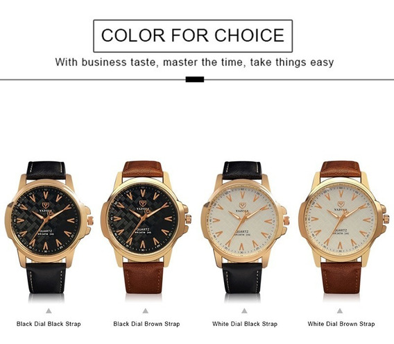 Presentes À Prova D'água Luxo Negócio Novo Homens Relógi