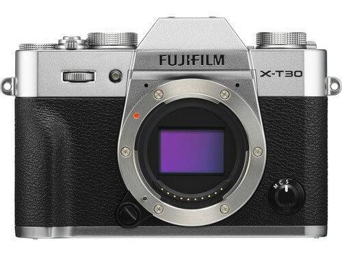 Câmera Fujifilm X-t30 Mirrorless Prata (corpo)