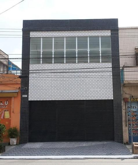 Salão Comercial Para Venda E Locação, Quarta Parada, São Paulo - Sl0258. - Sl0258