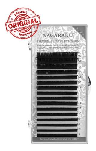 Cílios Nagaraku Premium Mix (7a15) Volume-russo - Fio A Fio