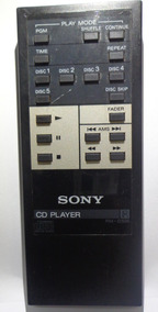Controle Remoto Original Sony Para Cd Player - Rm-505