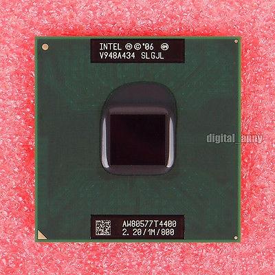 Intel Pentium T4400 2.2 Ghz Dual-core Cpu Processor Slgjl Aw