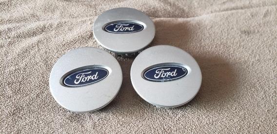 Jogo De Calotas Tampa Rodas Ford Fusion Aro 17 Original