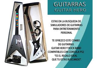 Guitarras Guitar Hero Y Rock Band Ps2, Ps3