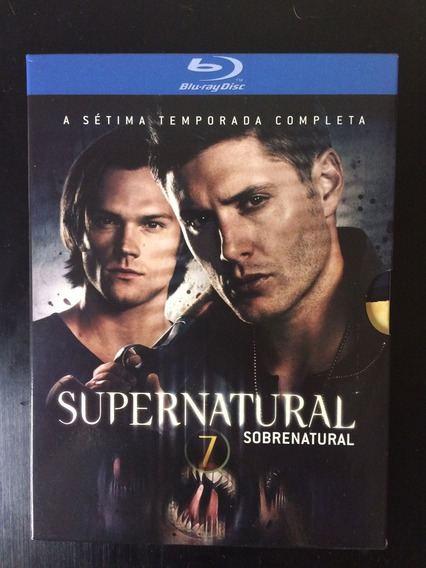 Blu Ray Supernatural 7ª Temporada Original