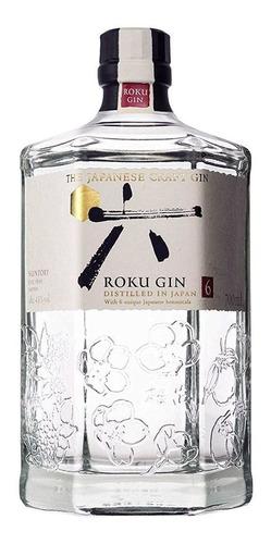 Gin Japonês Suntory Roku - 700ml
