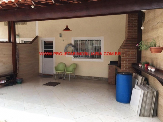Rodilândia/n.iguaçu. Casa 3 Quartos, Sala, Cozinha, 2 Banheiros, Churrasqueira E 2 Vg. Garagem - Ca00651 - 34584179