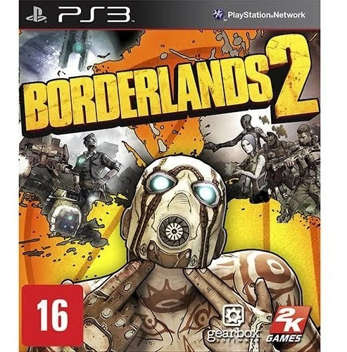Bordelands 2 - Ps3 - Mídia Física
