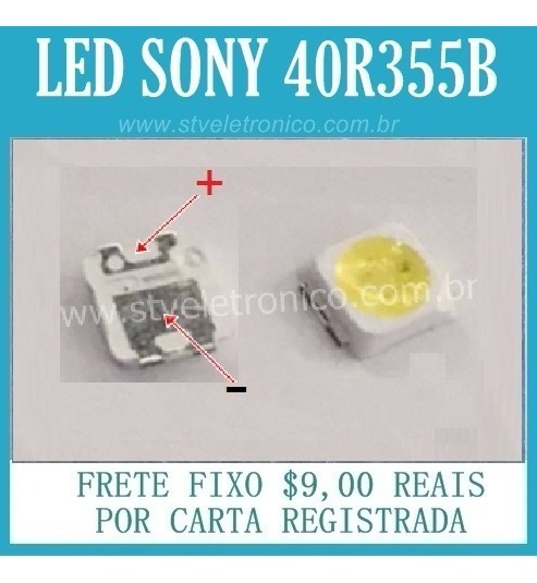 Led Tv Sony Kdl-40r355b Kit Com 50 Unidades Frete Gratis Cr